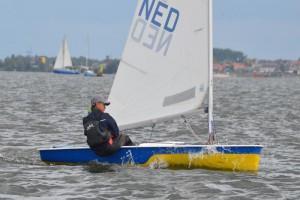 Niels zijn eerste SKON-wedstrijd